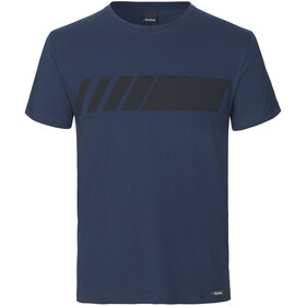 GripGrab Racing Stripe SS Organic Cotton T-Shirt navy